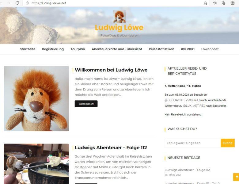Neue Homepage und Löwenpost